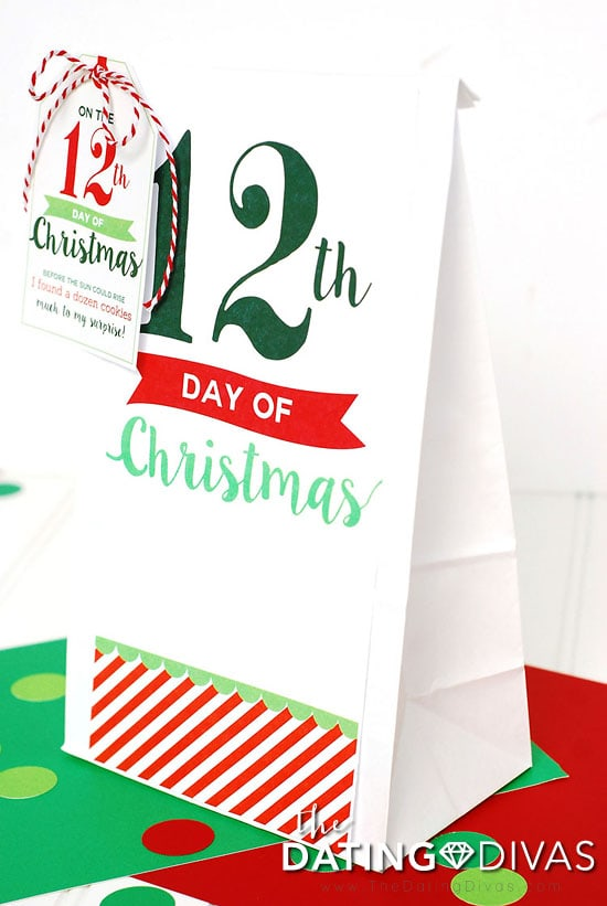 12 Days of Christmas Bag
