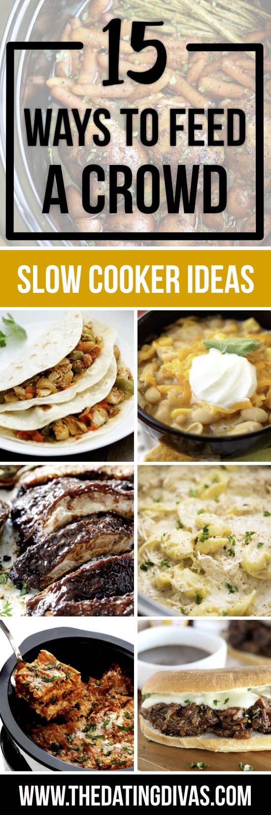 Slow Cooker Recipes for a Crowd