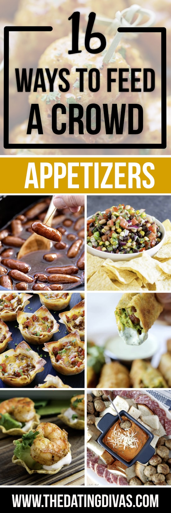 Appetizers for a Crowd