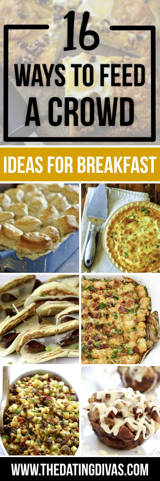 Breakfast Ideas for a Crowd