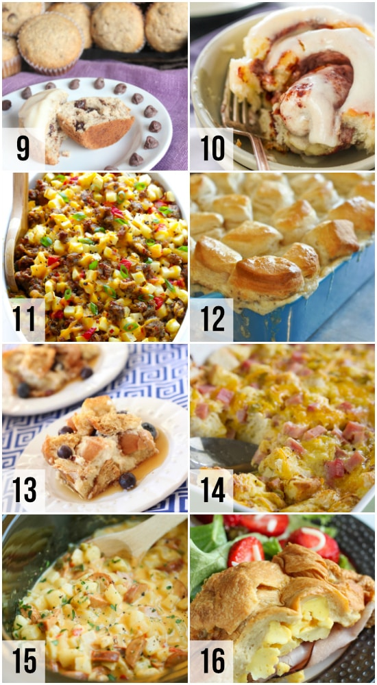 Ideas to Feed a Crowd for Breakfast