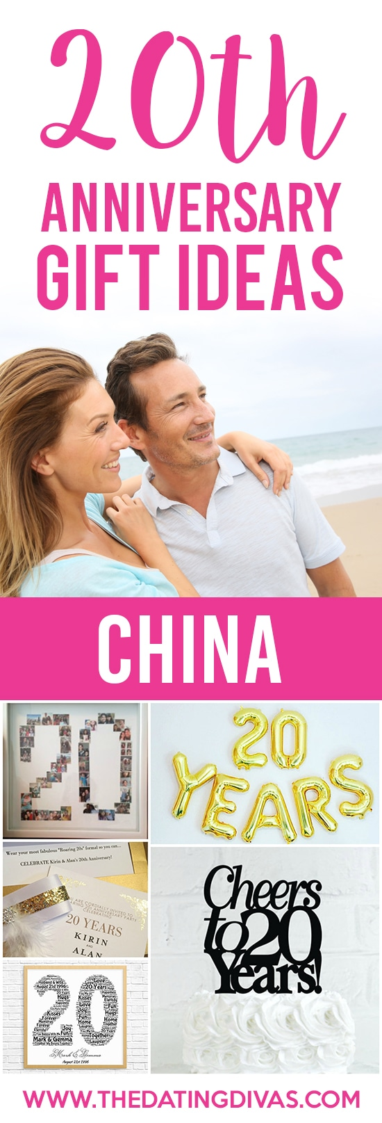 20th Anniversary Gift Ideas
