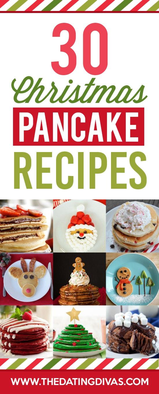 Christmas Breakfast Pancake Ideas