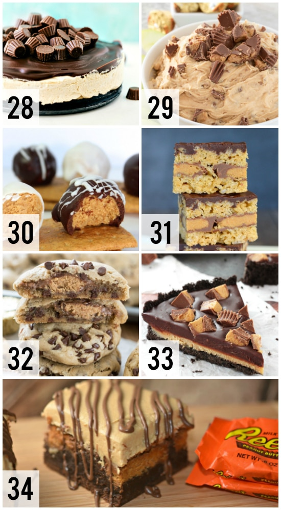 Reese's Inspired Desserts