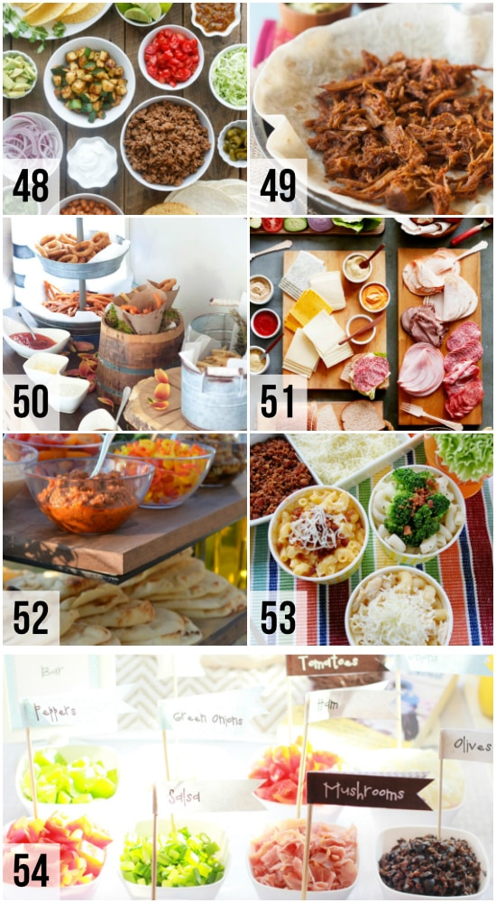 Food Bars for Parties