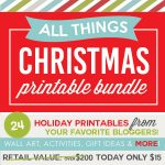 ALL THINGS CHRISTMAS Blogger Bundle