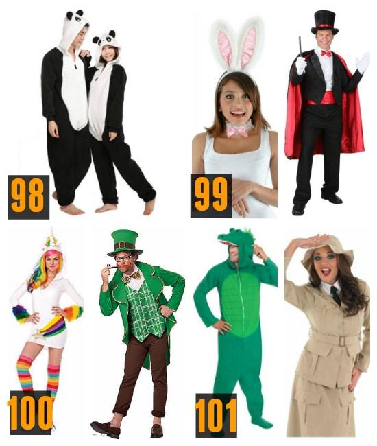 Animal Couples Costumes