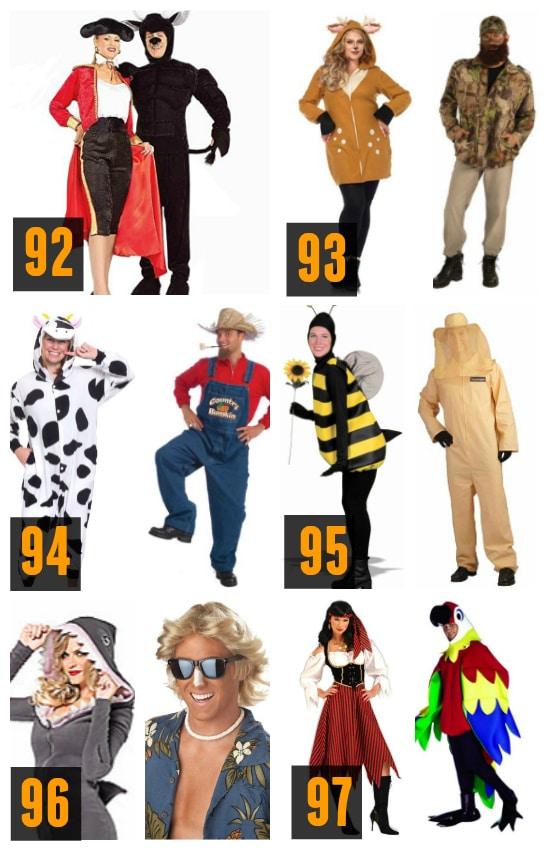 Ideas for Animal Couples Halloween Costume