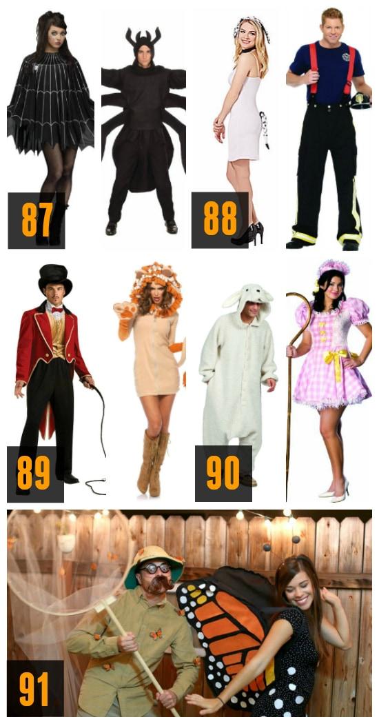 Animal Couples Halloween Costumes