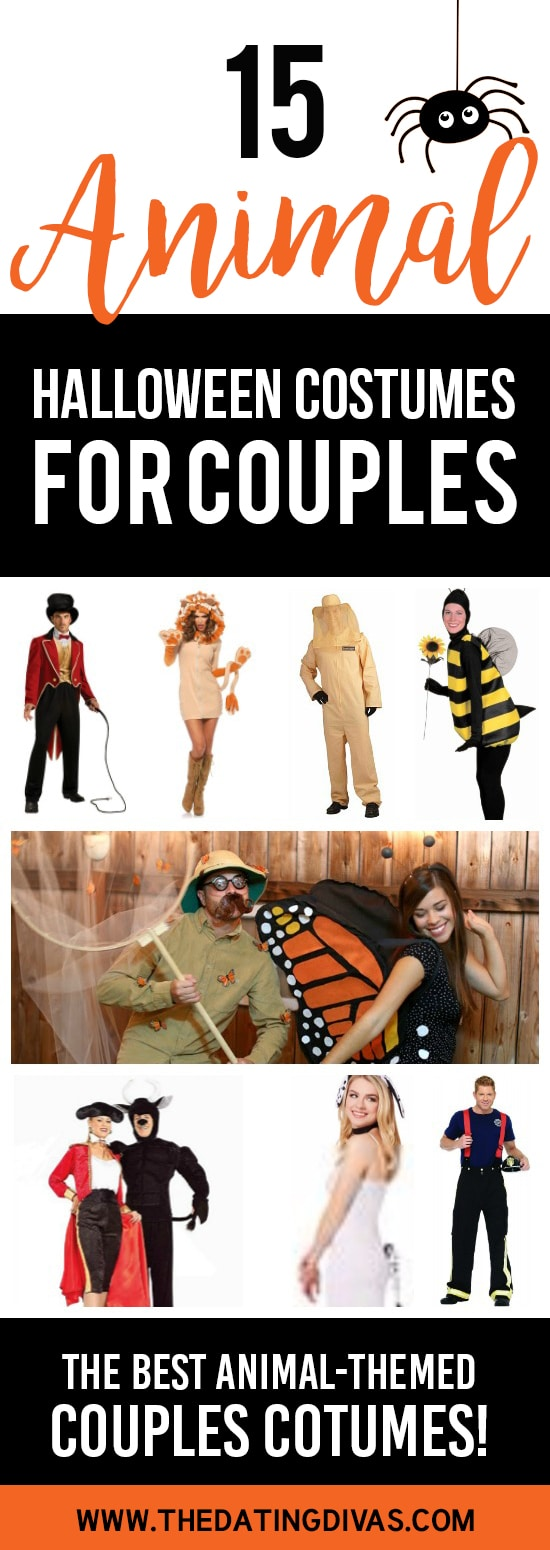 Animal Halloween Costumes for Couples