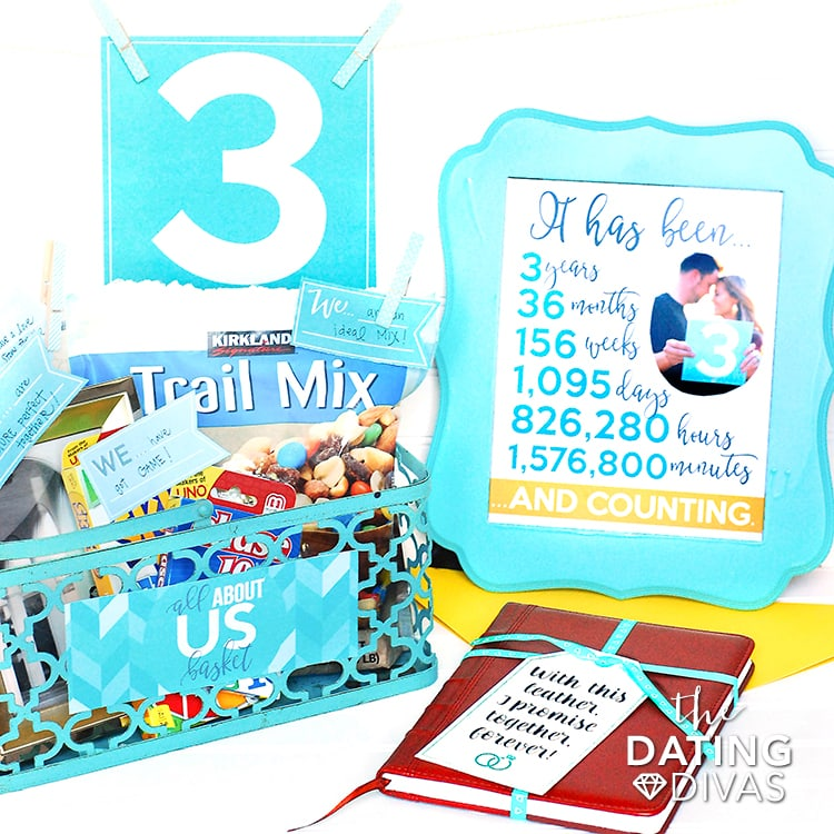 3rd Anniversary Printable Kit