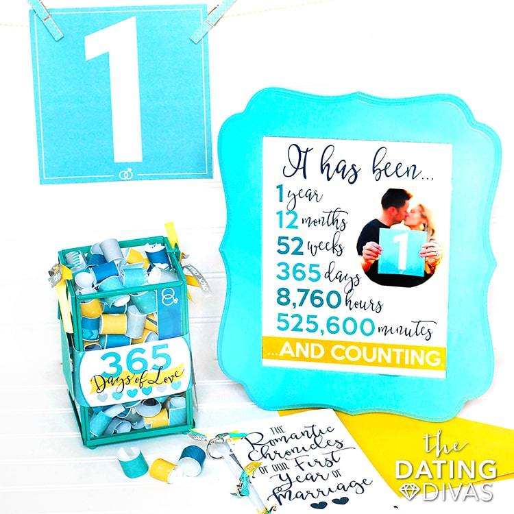 First Anniversary Printable Kit