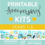 Printable Anniversary Kits
