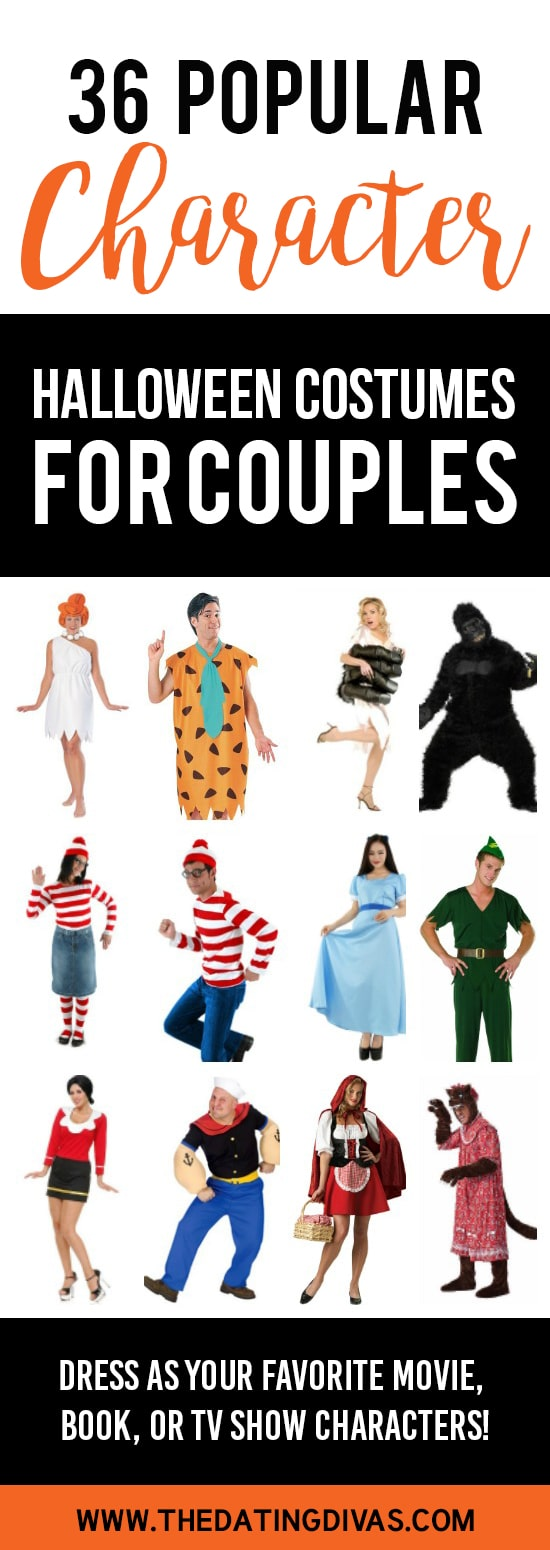 Character Halloween Costumes for Couples
