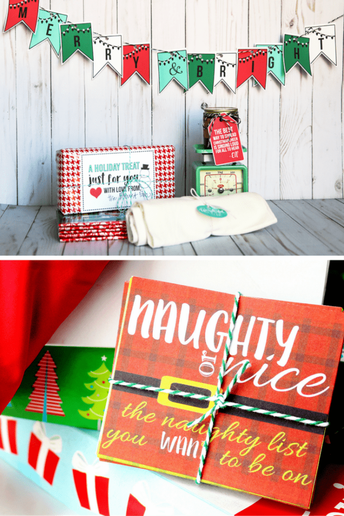 Christmas Banner and Christmas Coupons