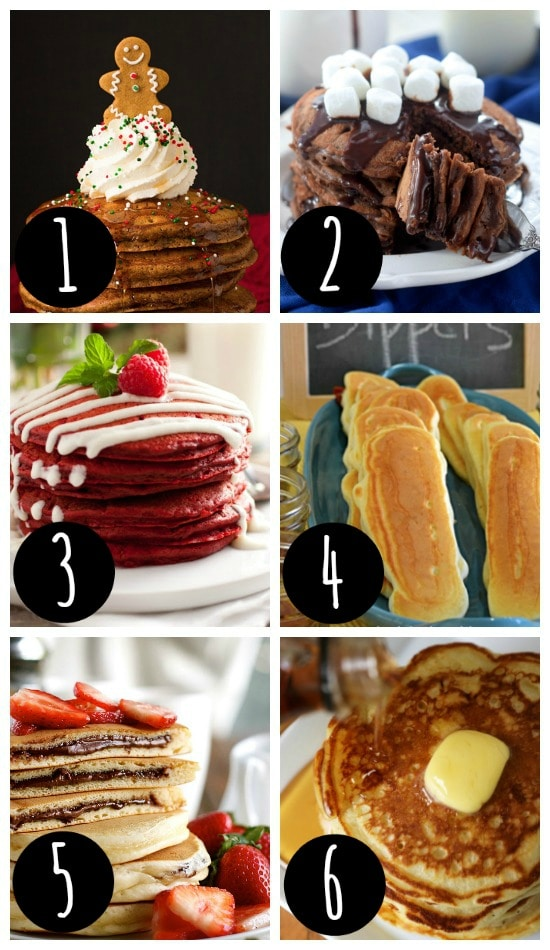 Christmas Breakfast Ideas for Pancakes