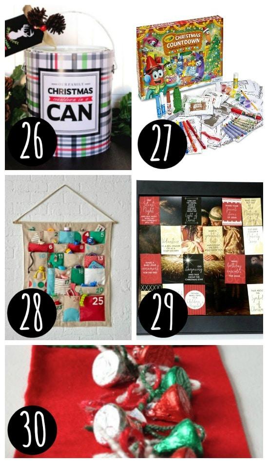 Family Advent Calendars