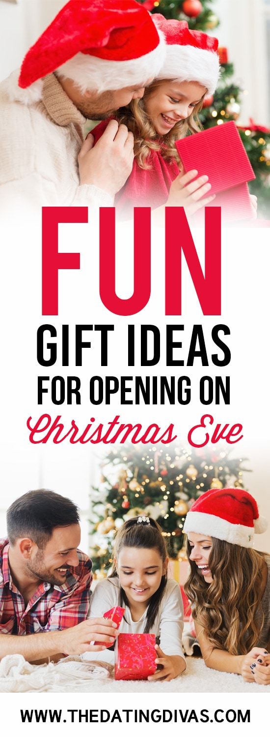 Christmas Eve Gift Opening Ideas