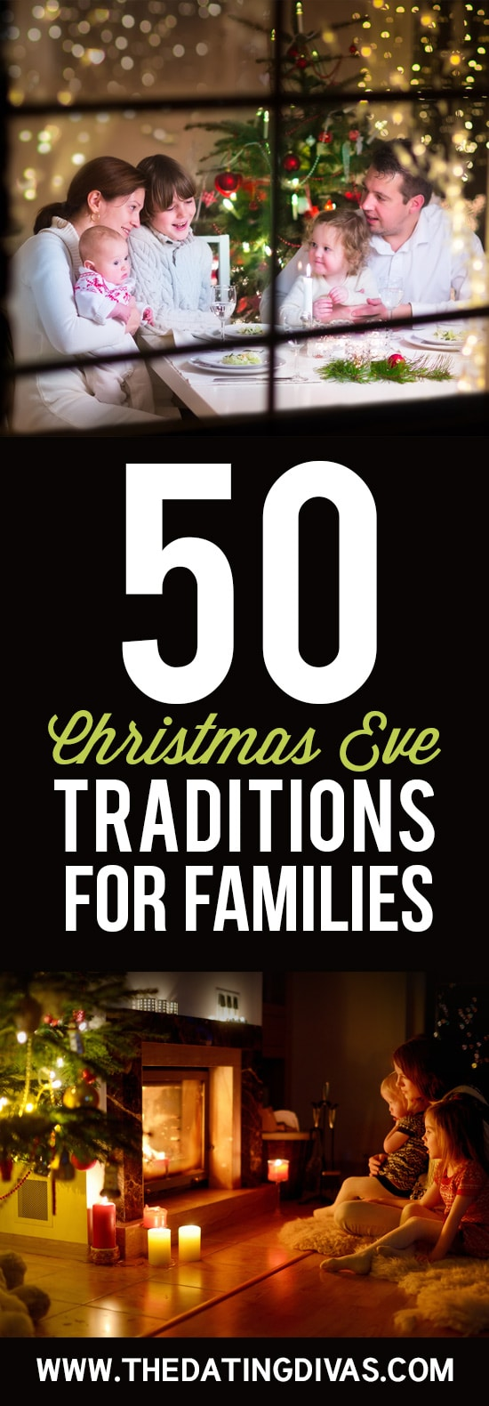 50 Christmas Eve Traditions For Families #Christmasevetraditions