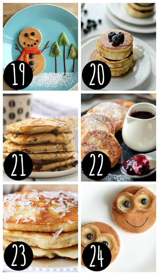 Pancake Christmas Breakfast Recipes