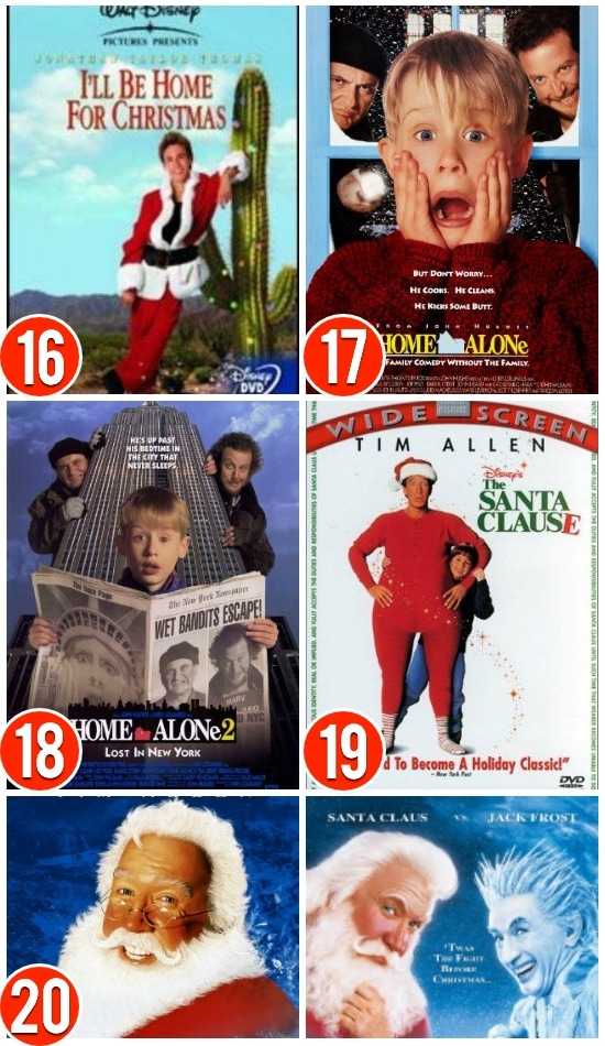 Christmas Movie Comedies For Families