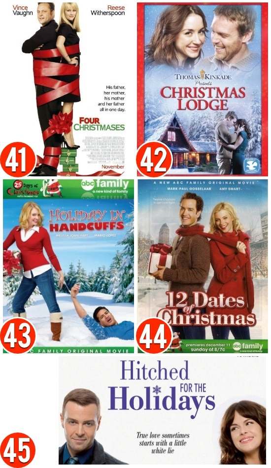 Christmas Movies For The Romantic
