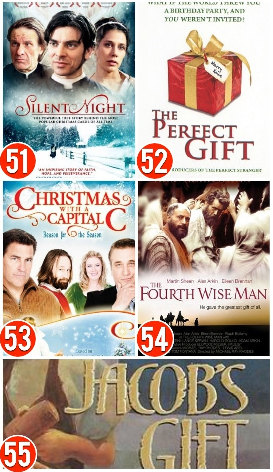 Christmas Movies With A Christ Focus