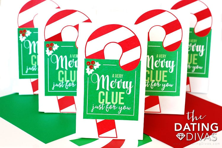 Christmas Scavenger Hunt Activity Bags
