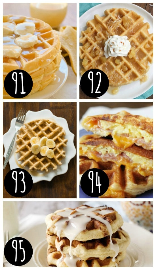 Delicious Christmas Breakfast Waffle Recipes