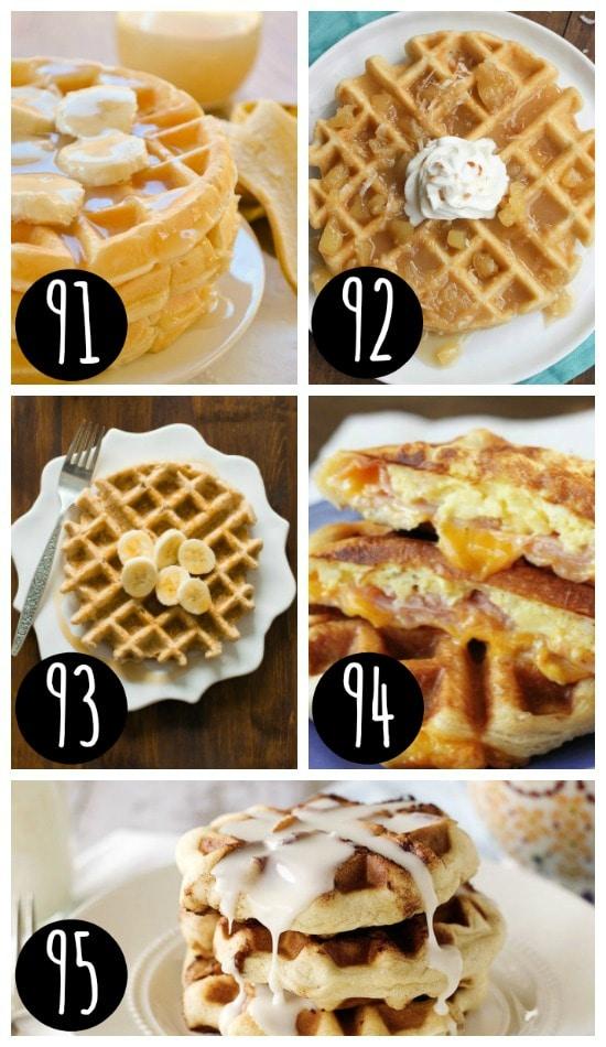 Delicious Christmas Breakfast Waffle Recipes