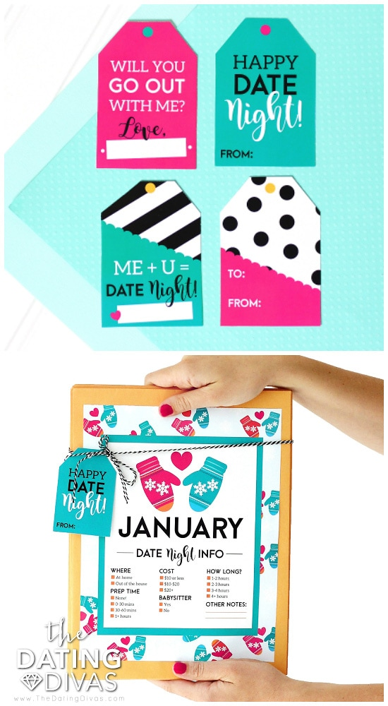 Date Night Kit Gift Tags