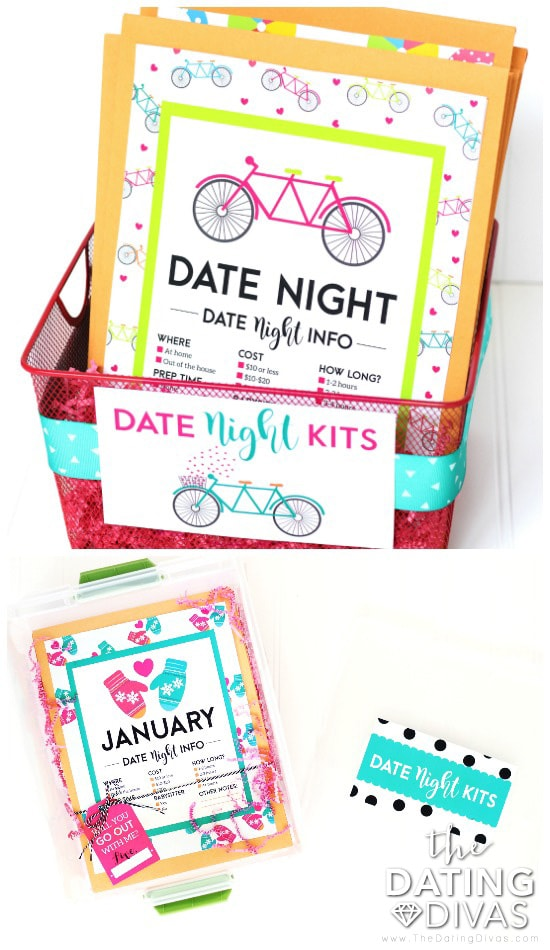 Date Night Kits Gift Basket