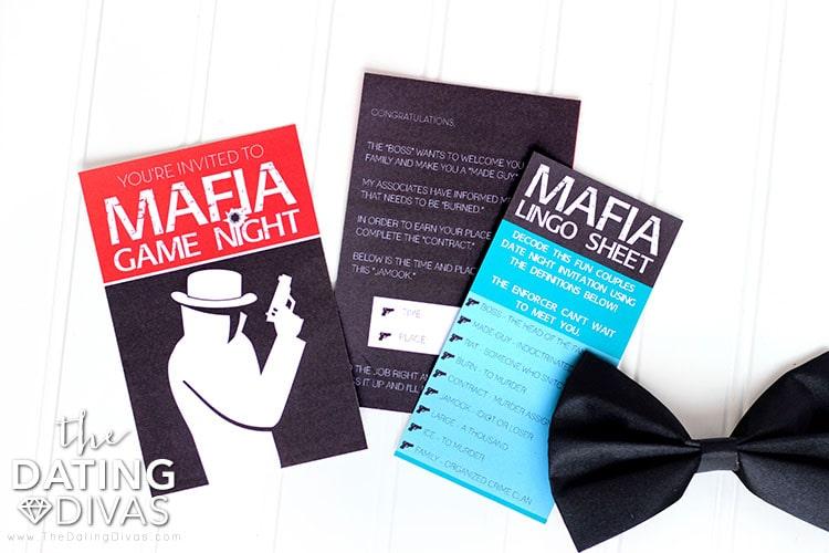 Decode Mafia Group Date Invitation