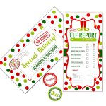 Elf Report Card