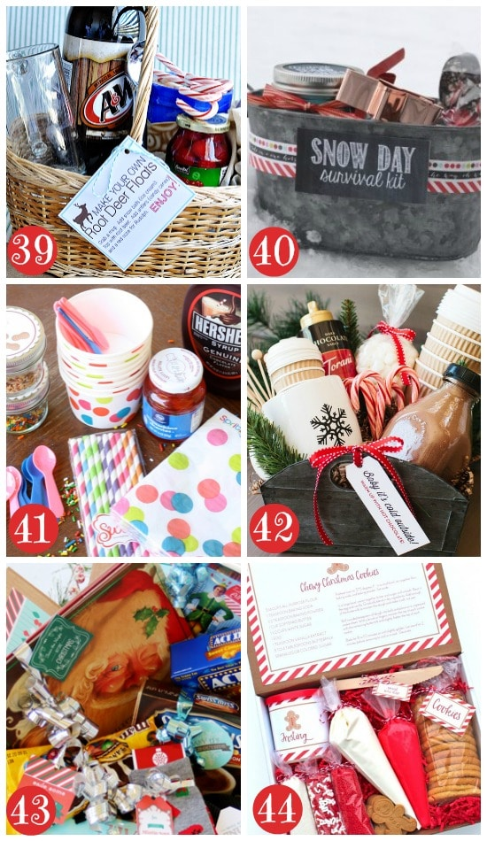 christmas gift basket ideas for families - Cheap Christmas Gifts For Family