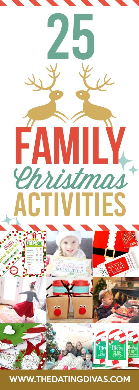 Family Holiday Activities