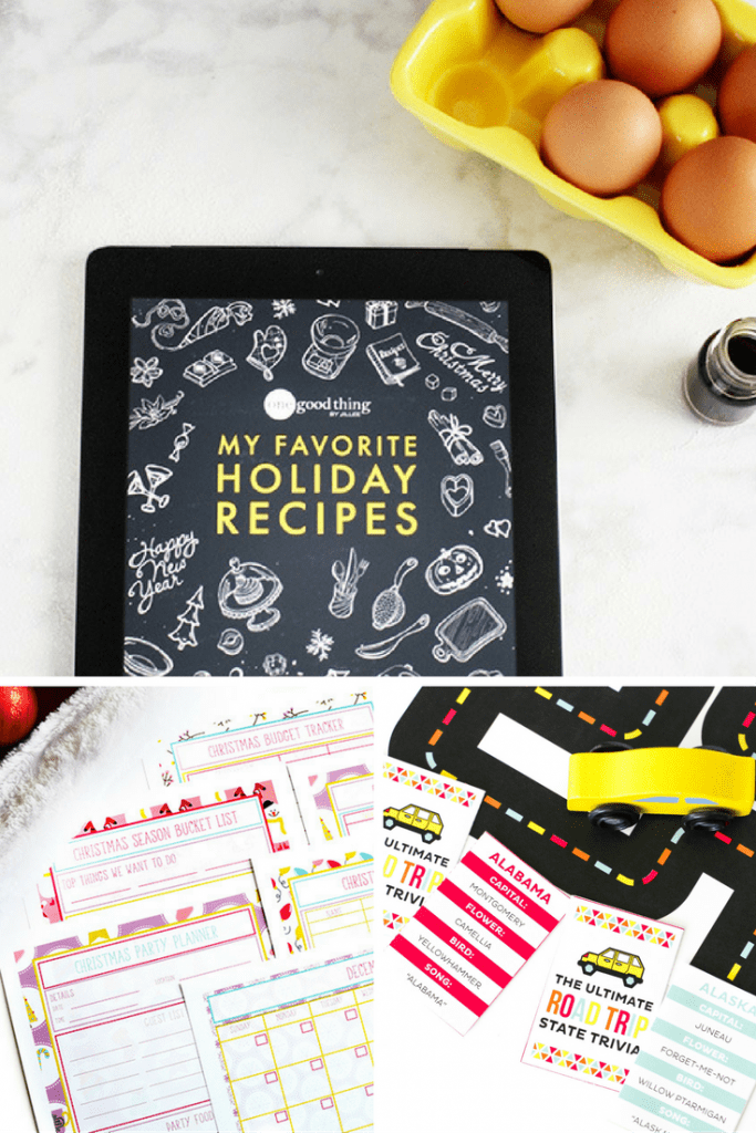 Favorite Holiday Recipes and Roadtrip Kit