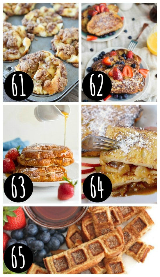 Favorite Holiday French Toast Ideas