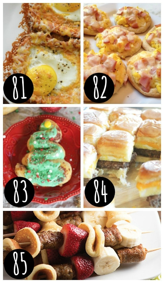 Quick & Easy Christmas Breakfast Ideas
