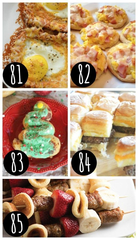 Quick & Easy Christmas Breakfast Ideas