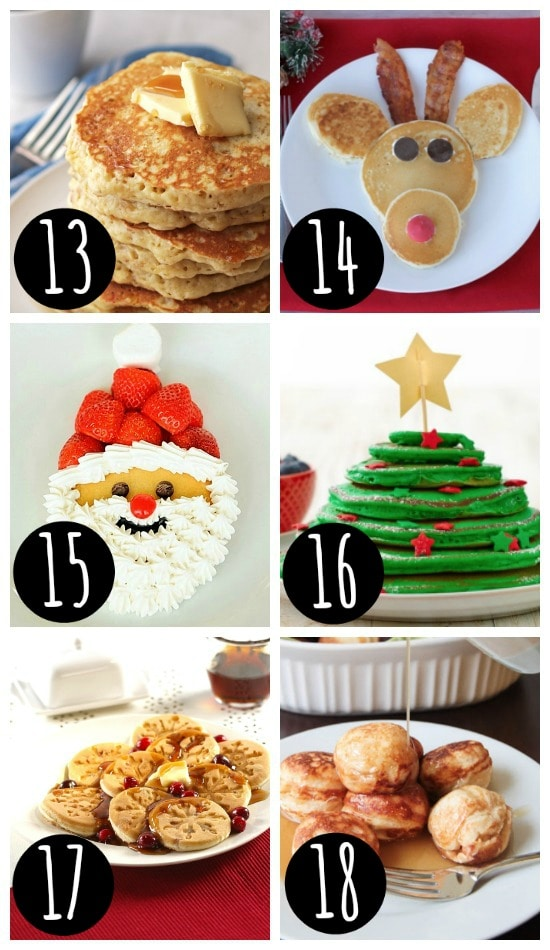 Pancake Recipes for Christmas Breakfast