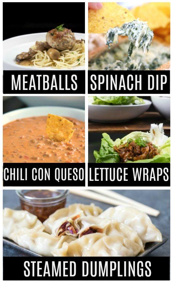 Instant Pot Appetizer Ideas
