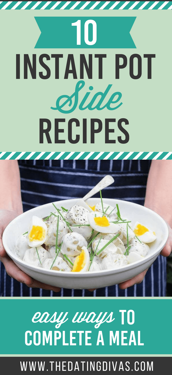 Side Dishes in the Instant Pot #easysidedishes