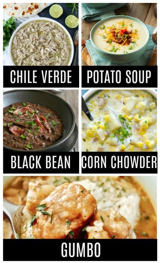 Simple Instant Pot Soups