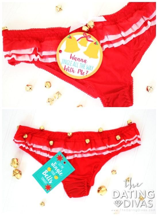 Sexy Christmas Idea - DIY Jingle Bell Panties!