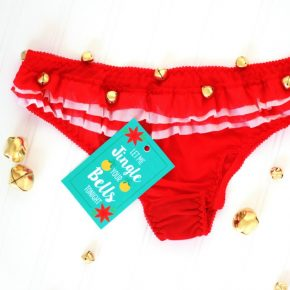 Sexy Christmas Idea- DIY Jingle Bell Panties!