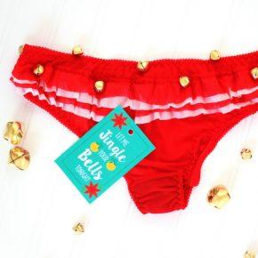 Sexy Christmas Idea- DIY Jingle Bell Panties!