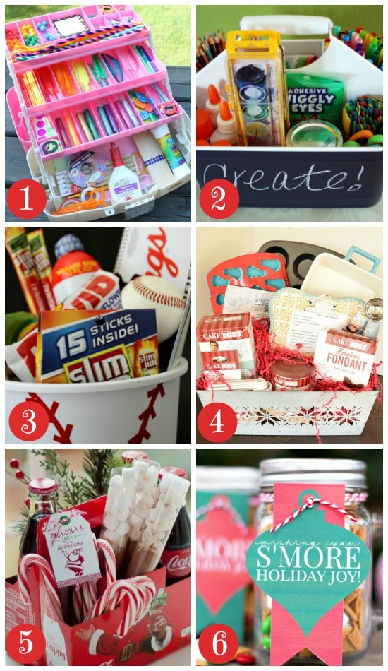 kids and teens christmas gift baskets
