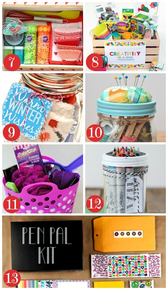 50 themed christmas basket ideas the dating divas more christmas gift baskets for kids and teens negle Image collections