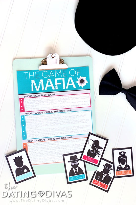 Mafia Game Night Instructions